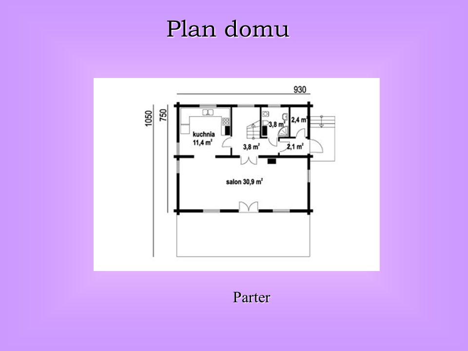 Plan domu Parter