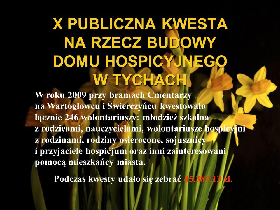 X PUBLICZNA KWESTA NA RZECZ BUDOWY DOMU HOSPICYJNEGO W TYCHACH
