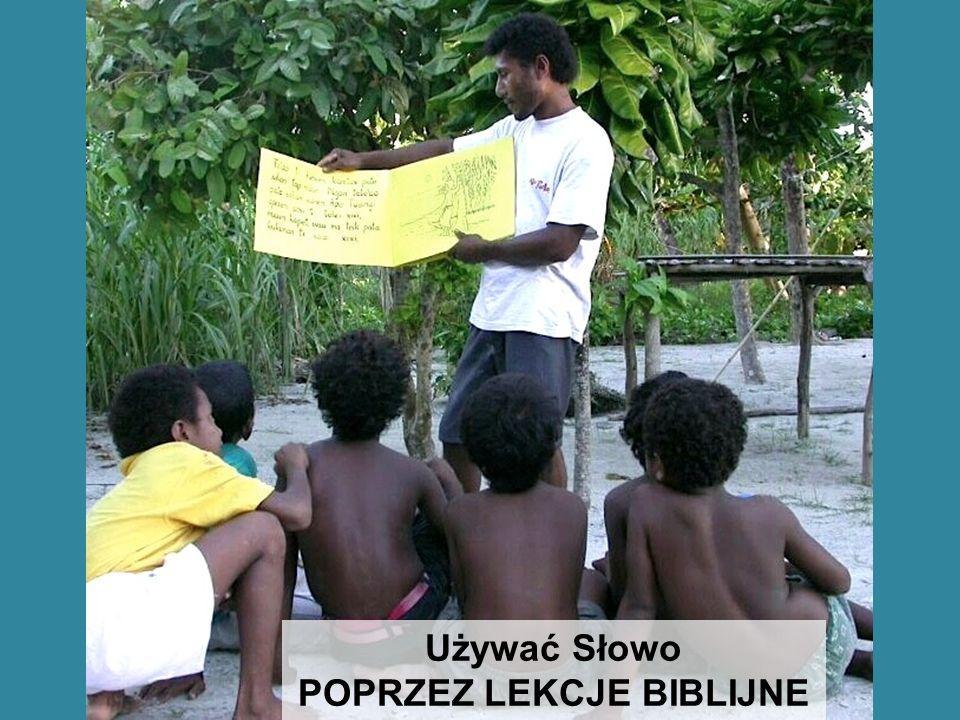 POPRZEZ LEKCJE BIBLIJNE