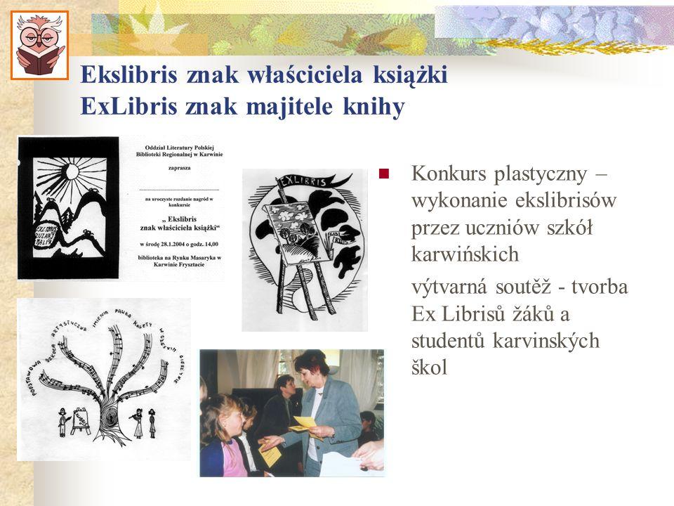 Ekslibris znak właściciela książki ExLibris znak majitele knihy