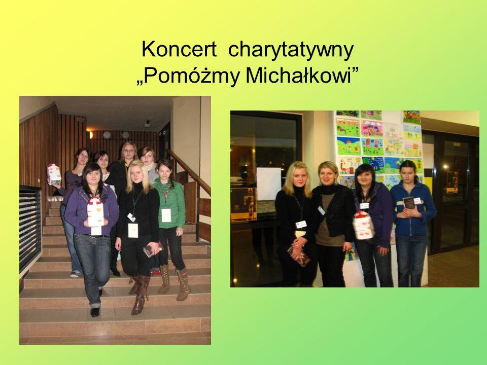 """Koncert charytatywny """"Pomóżmy Michałkowi"""