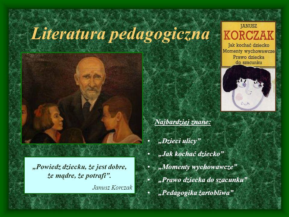 Literatura pedagogiczna