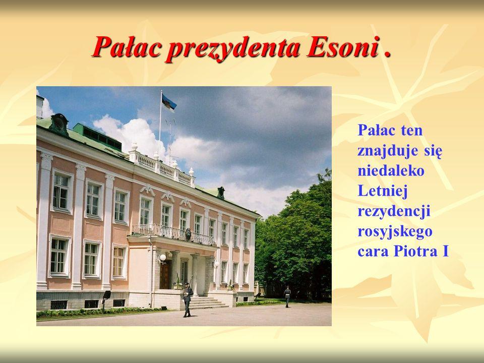 Pałac prezydenta Esoni .