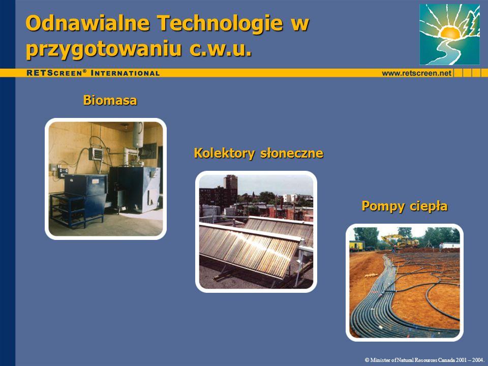 Odnawialne Technologie w przygotowaniu c.w.u.