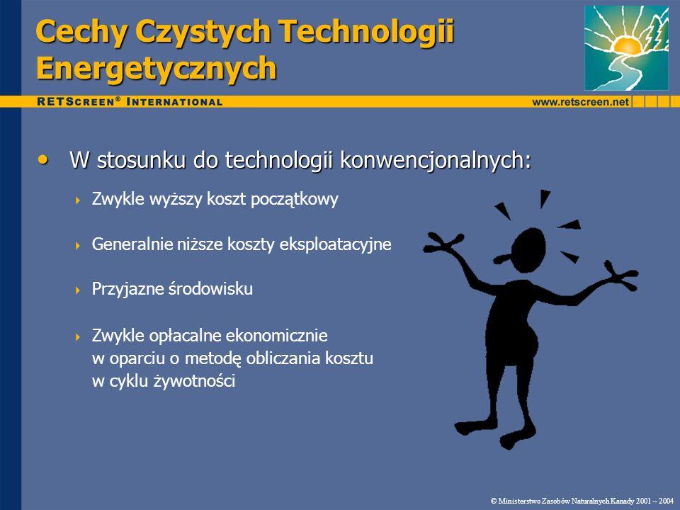 Cechy Czystych Technologii Energetycznych