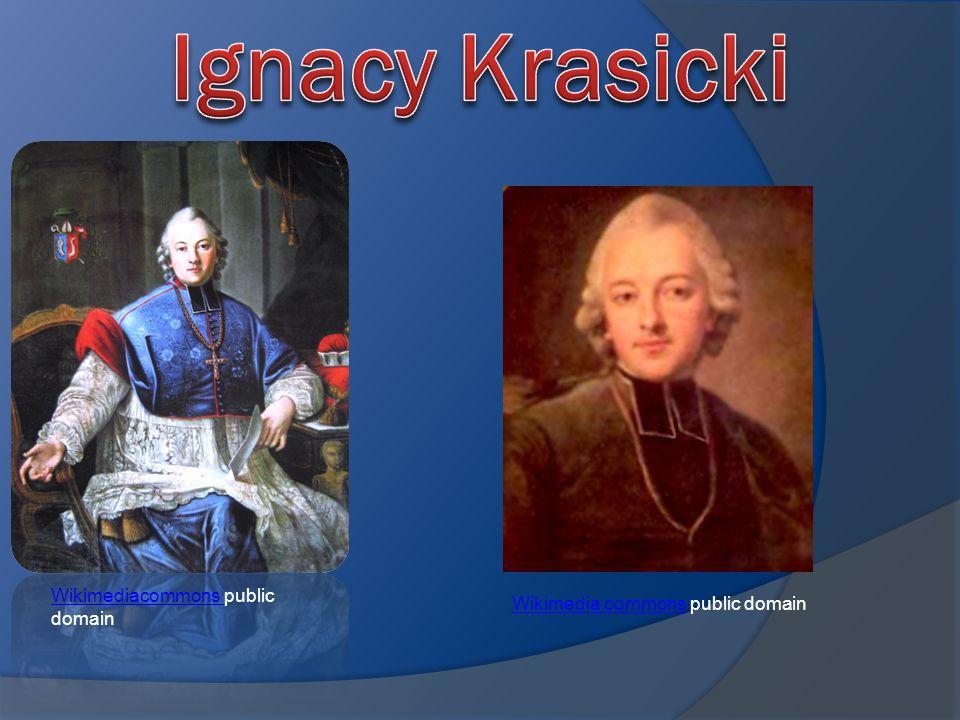 Ignacy Krasicki Wikimediacommons public domain