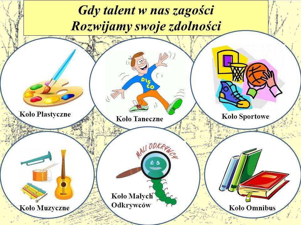 Gdy talent w nas zagości Rozwijamy swoje zdolności