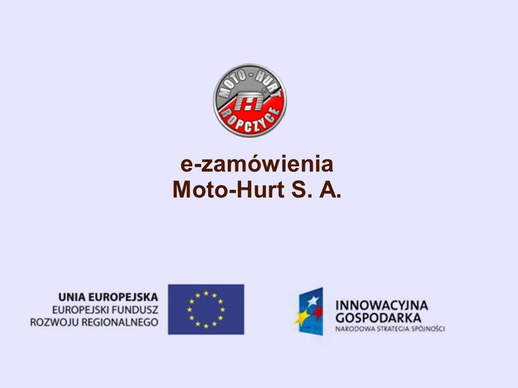 e-zamówienia Moto-Hurt S. A.