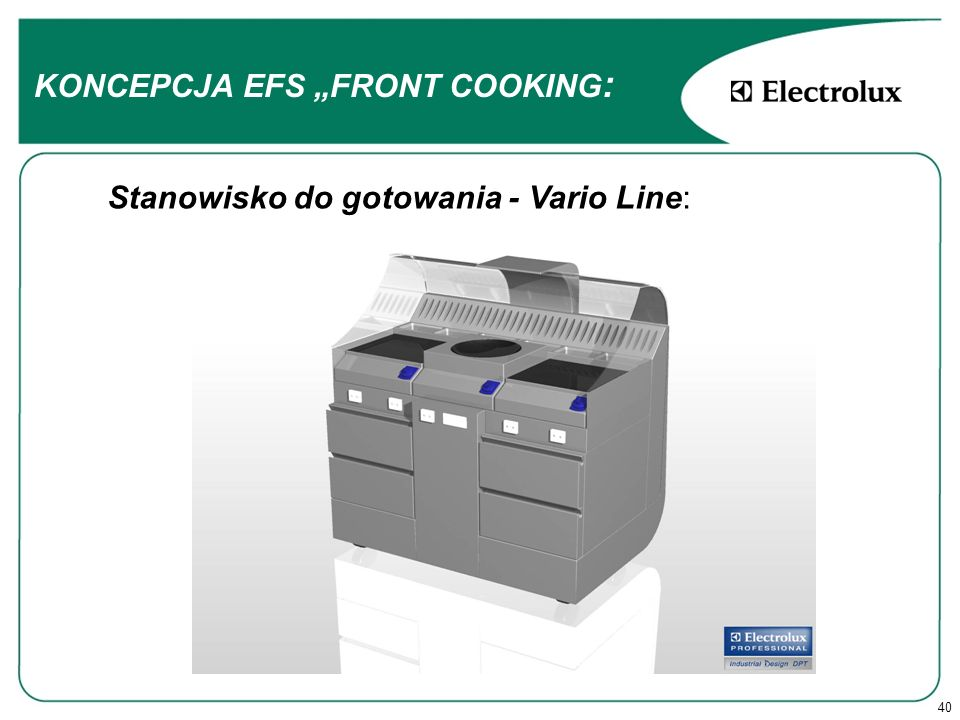 "KONCEPCJA EFS ""FRONT COOKING:"