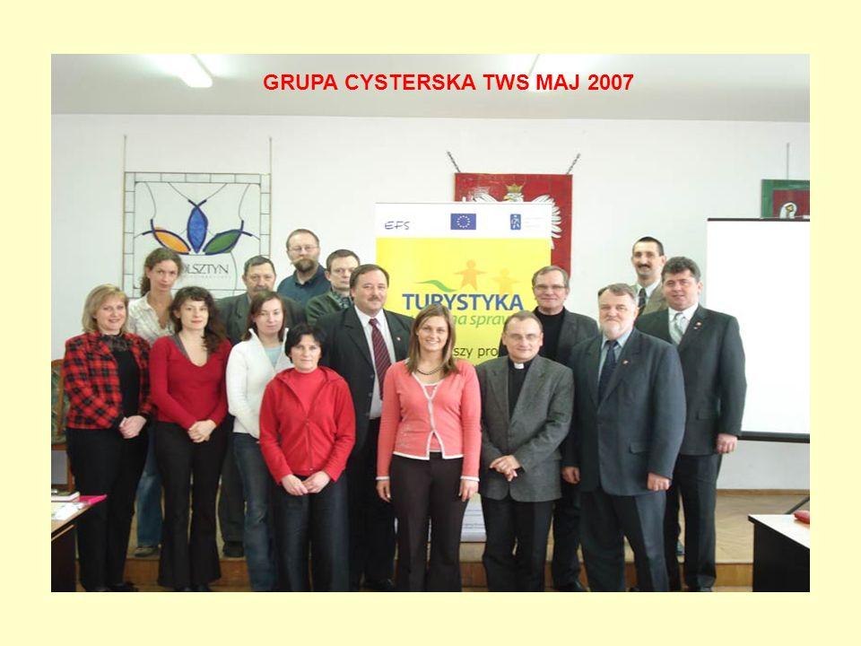 GRUPA CYSTERSKA TWS MAJ 2007