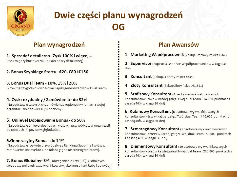 Dwie części planu wynagrodzeń OG