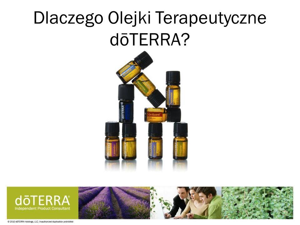 Dlaczego Olejki Terapeutyczne dōTERRA