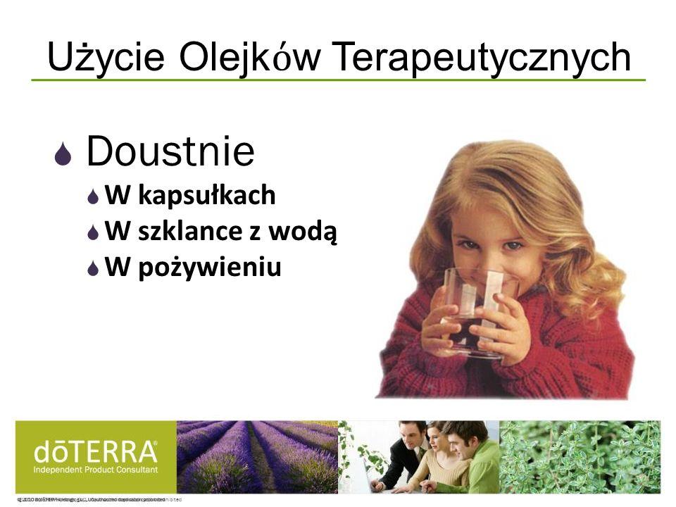 Użycie Olejkόw Terapeutycznych