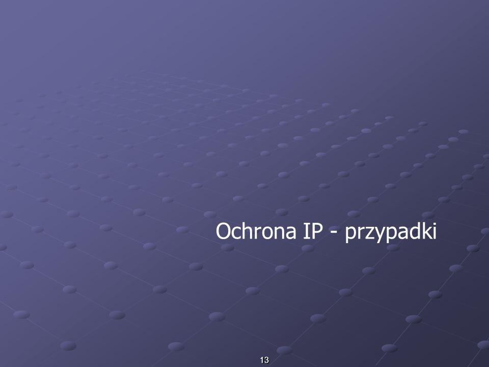 Ochrona IP - przypadki
