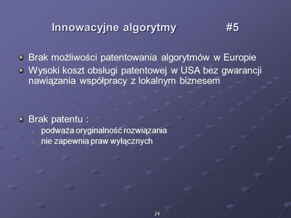 Innowacyjne algorytmy #5