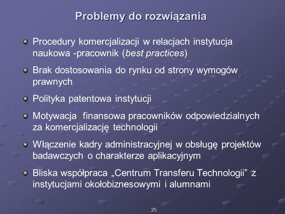 Problemy do rozwiązania