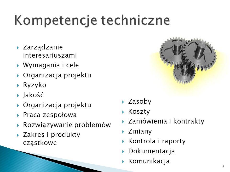 Kompetencje techniczne