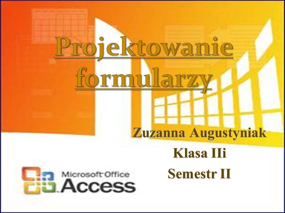 Projektowanie formularzy