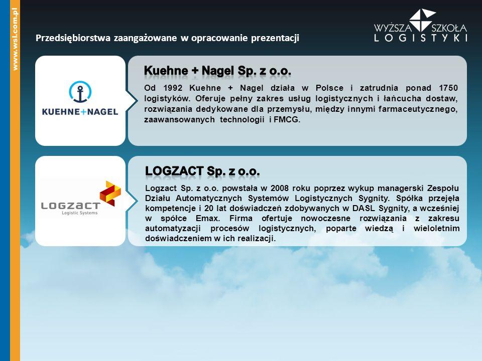 Kuehne + Nagel Sp. z o.o. LOGZACT Sp. z o.o.
