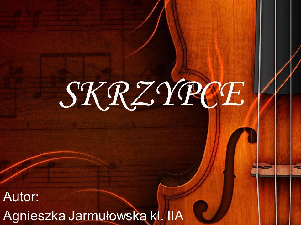 Autor: Agnieszka Jarmułowska kl. IIA