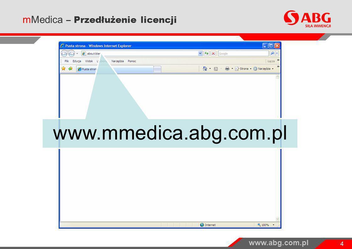 mMedica – Przedłużenie licencji