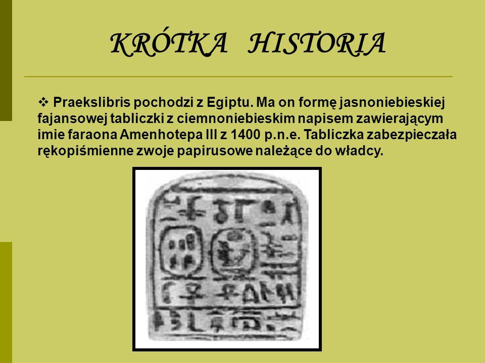 KRÓTKA HISTORIA