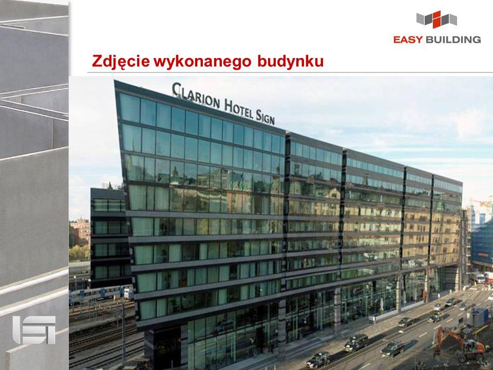Zdjęcie wykonanego budynku