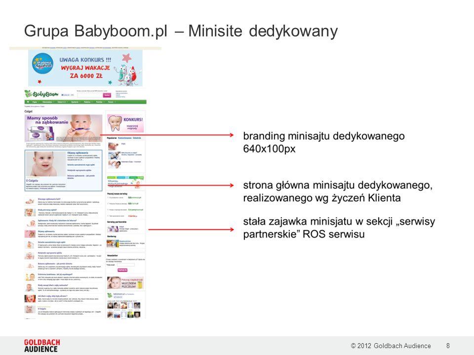 Grupa Babyboom.pl – Minisite dedykowany