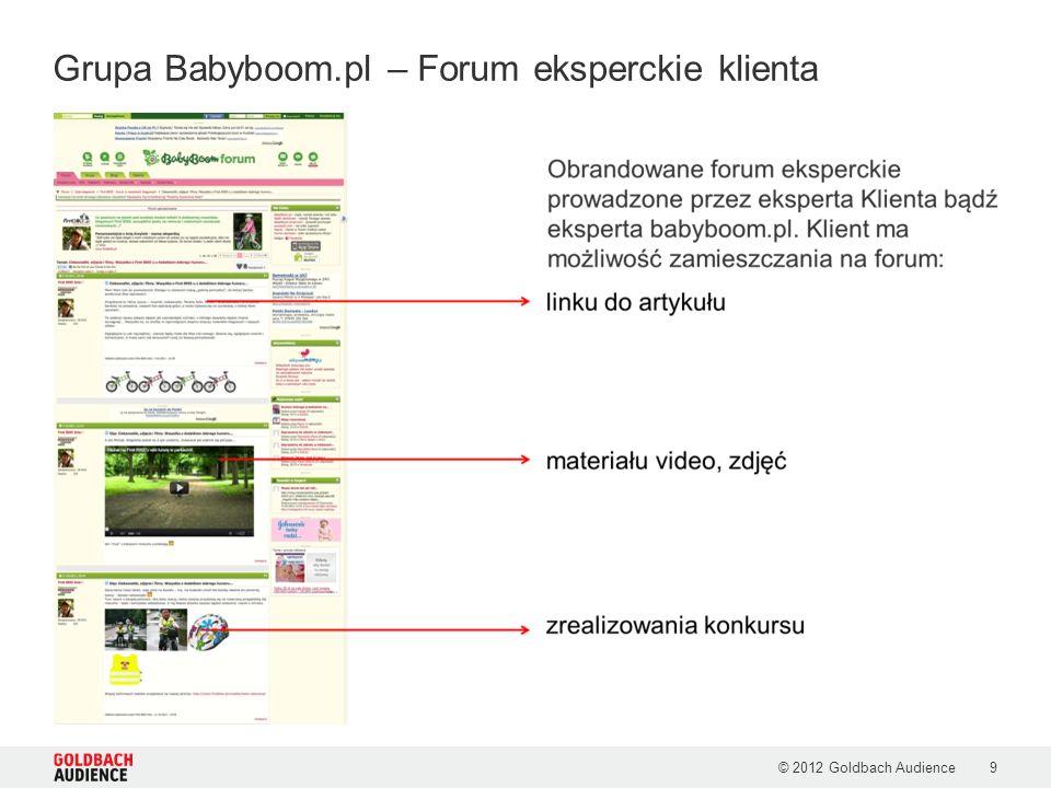 Grupa Babyboom.pl – Forum eksperckie klienta