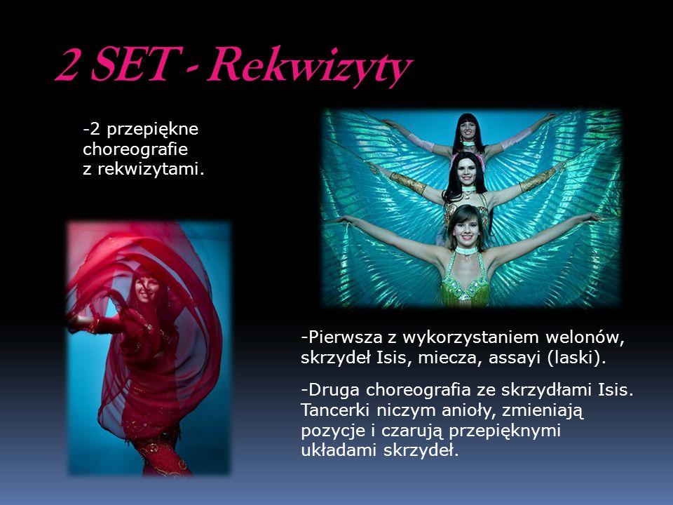 2 SET - Rekwizyty 2 przepiękne choreografie z rekwizytami.