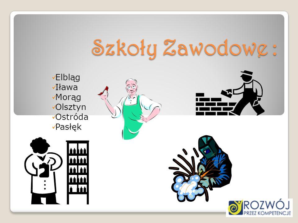 Elbląg Iława Morąg Olsztyn Ostróda Pasłęk