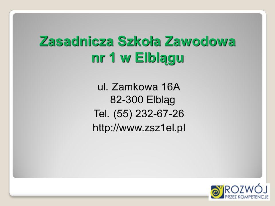 Zasadnicza Szkoła Zawodowa nr 1 w Elblągu
