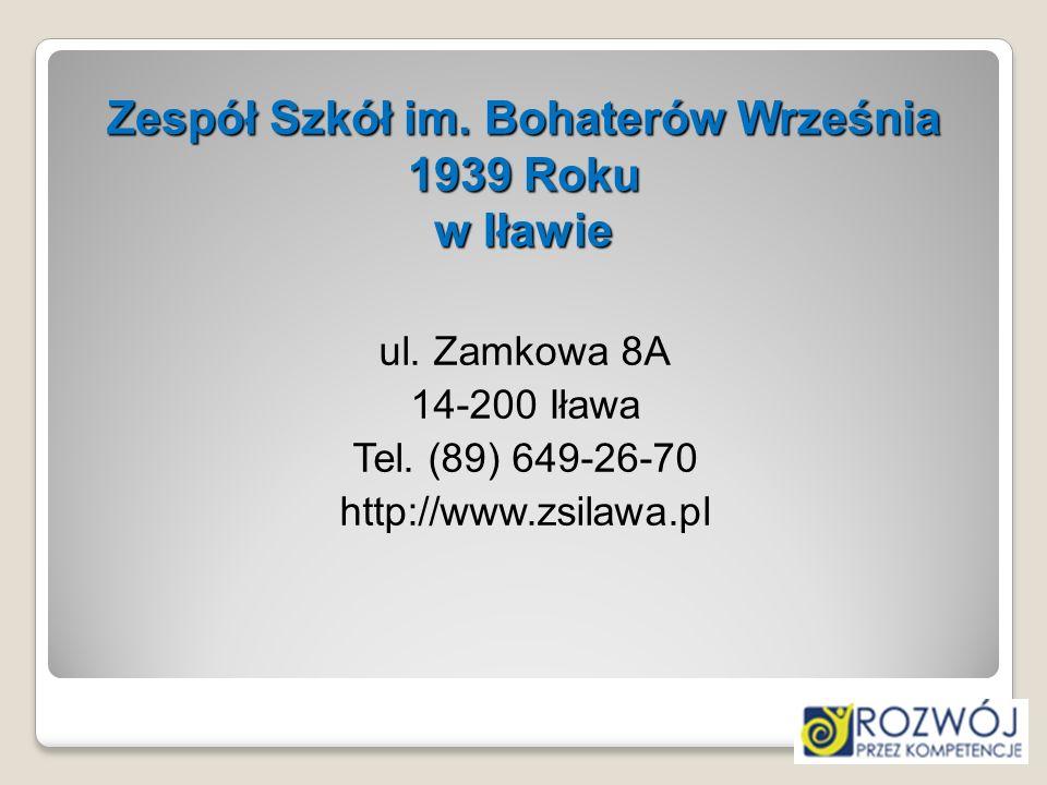 Zespół Szkół im. Bohaterów Września 1939 Roku w Iławie