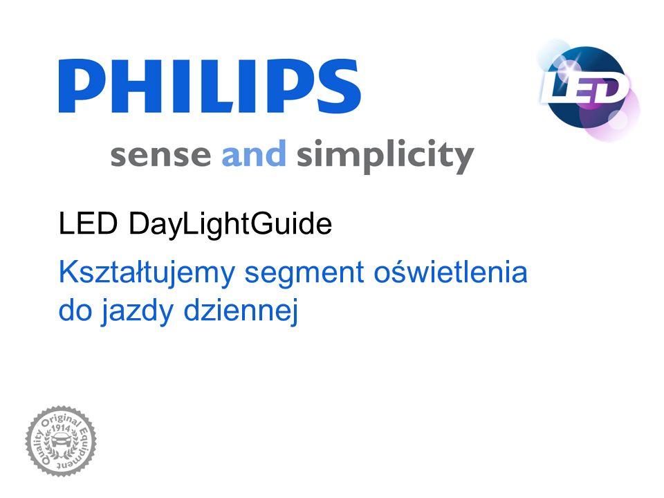 LED DayLightGuide Kształtujemy segment oświetlenia do jazdy dziennej