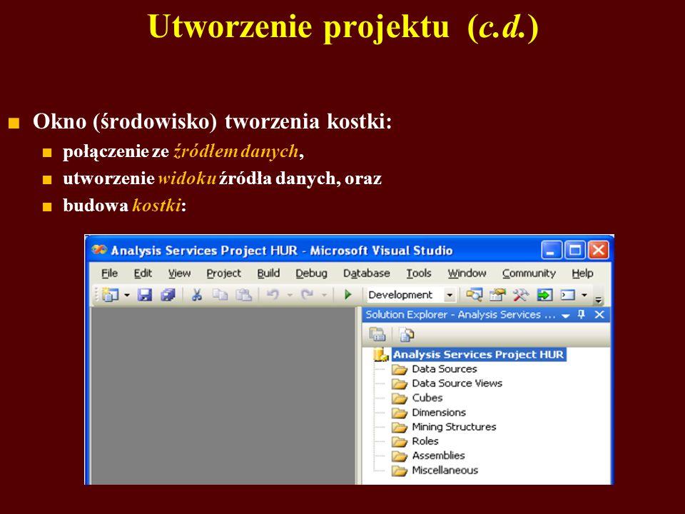 Utworzenie projektu (c.d.)