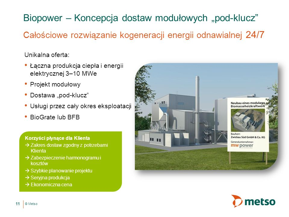 """Biopower – Koncepcja dostaw modułowych """"pod-klucz"""