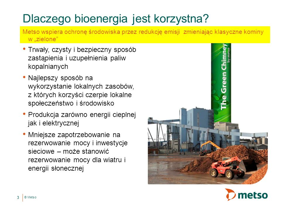 Dlaczego bioenergia jest korzystna
