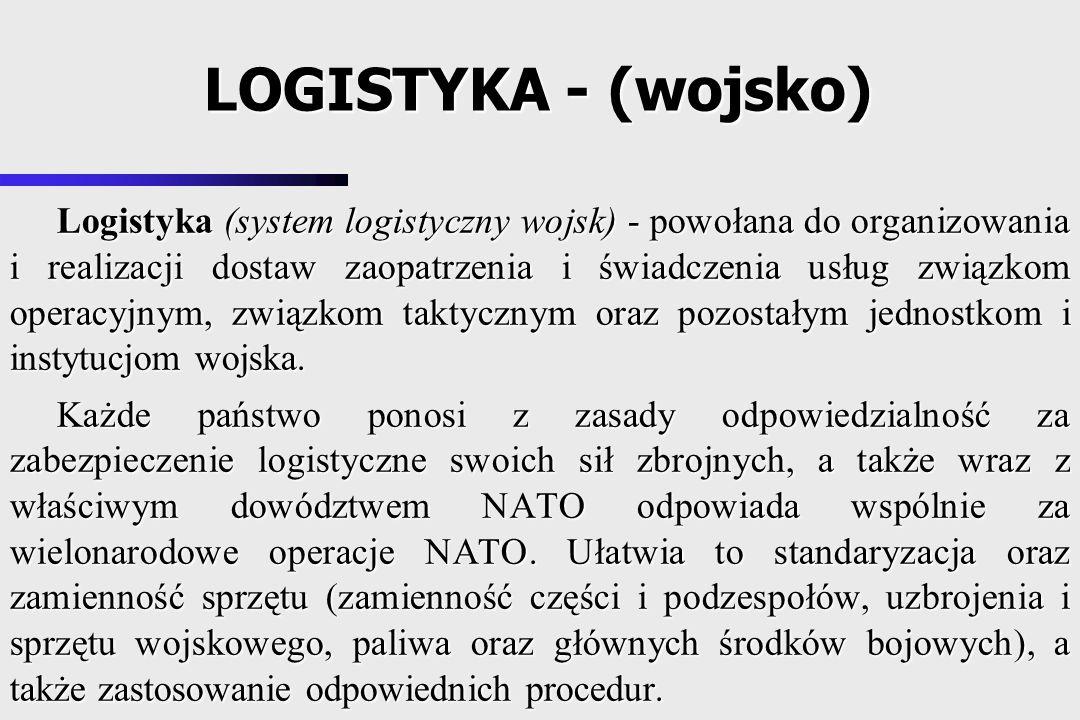 LOGISTYKA - (wojsko)