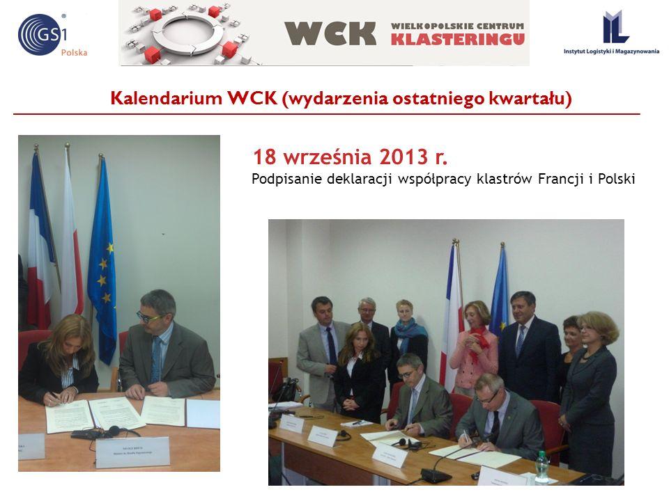 Kalendarium WCK (wydarzenia ostatniego kwartału)