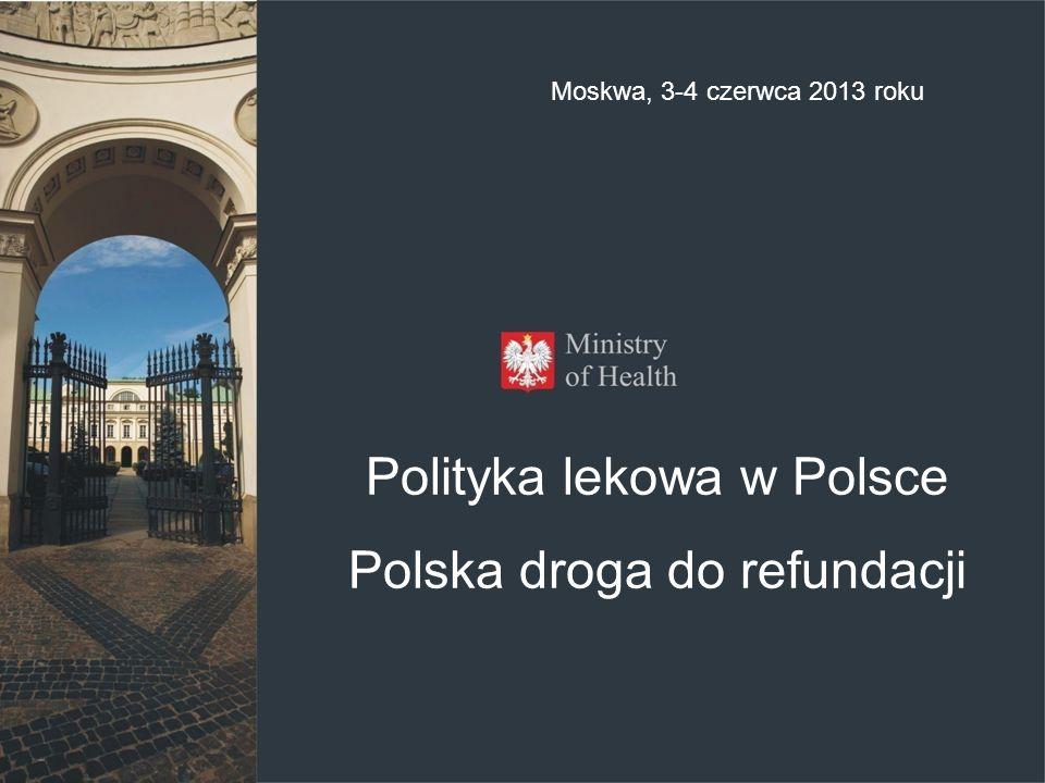 Polityka lekowa w Polsce Polska droga do refundacji