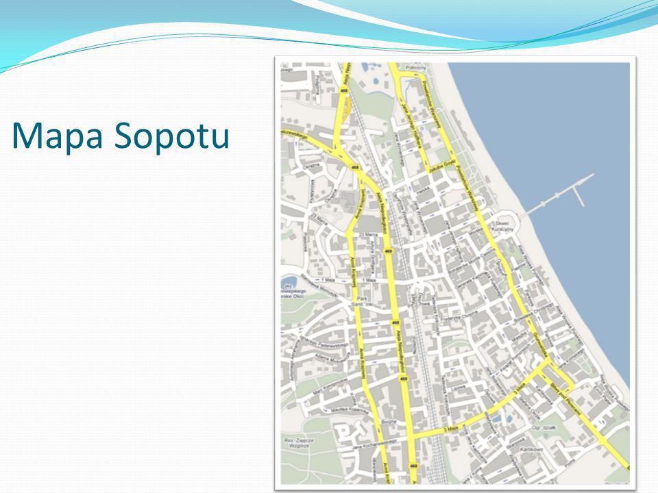 Mapa Sopotu