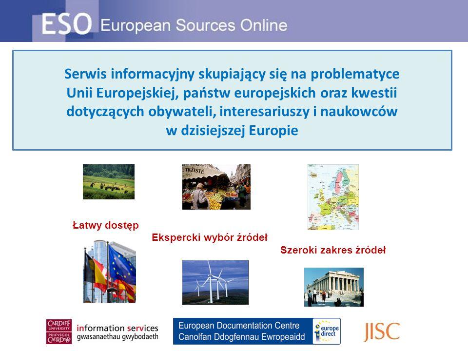 Serwis informacyjny skupiający się na problematyce Unii Europejskiej, państw europejskich oraz kwestii dotyczących obywateli, interesariuszy i naukowców w dzisiejszej Europie