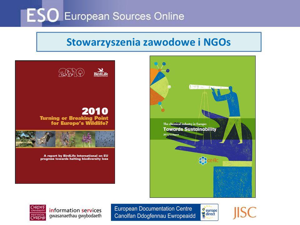 Stowarzyszenia zawodowe i NGOs