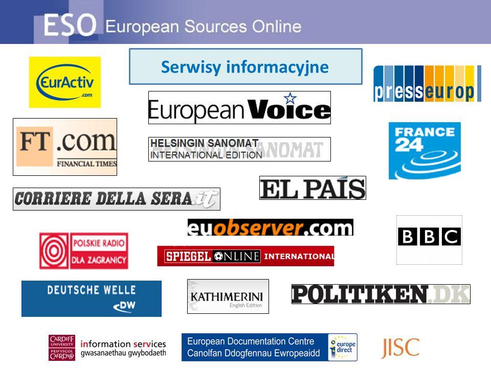 Serwisy informacyjne