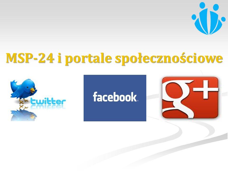 MSP-24 i portale społecznościowe