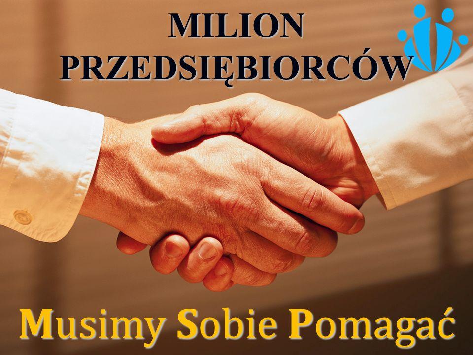 MILION PRZEDSIĘBIORCÓW