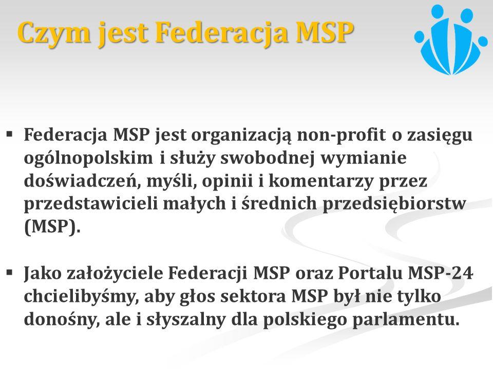 Czym jest Federacja MSP