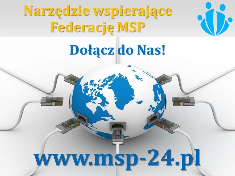 Narzędzie wspierające Federację MSP