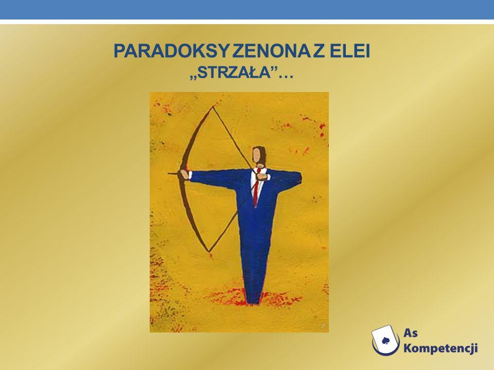 """Paradoksy Zenona z Elei """"Strzała …"""