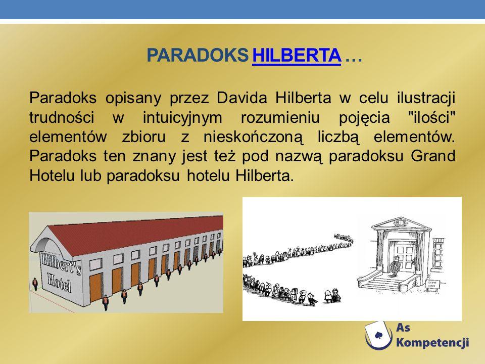 Paradoks Hilberta …